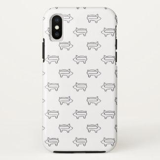 Funda Para iPhone X Poco animal lindo guarro del modelo el | del