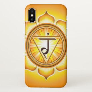 Funda Para iPhone X Poder personal Chakra