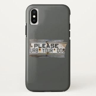 Funda Para iPhone X Por favor urb del `