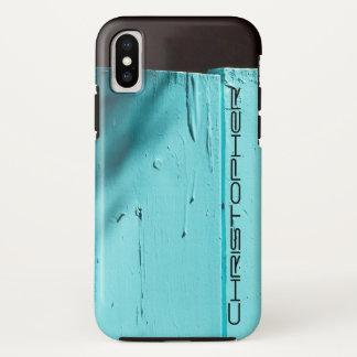 Funda Para iPhone X Puerta de la turquesa del arte del sudoeste,