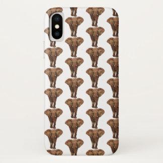Funda Para iPhone X Qué elefante en el cuarto