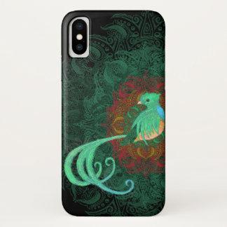 Funda Para iPhone X Quetzal rizado Barely There