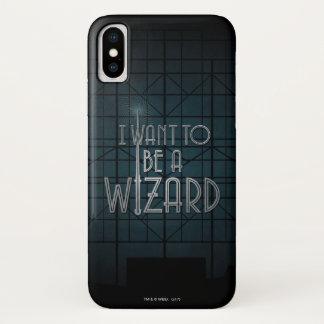 Funda Para iPhone X Quiero ser mago