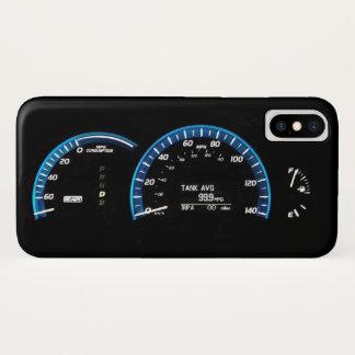 Funda Para iPhone X Racimo del instrumento del coche híbrido