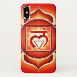 Funda Para iPhone X Raíz Chakra