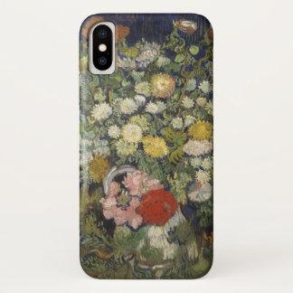 Funda Para iPhone X Ramo de flores en un florero