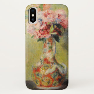 Funda Para iPhone X Ramo en un florero por Renoir