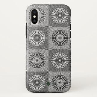 Funda Para iPhone X Rejilla del espejo