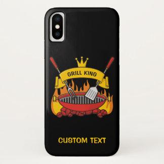 Funda Para iPhone X Rey de la parrilla