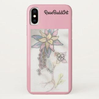 Funda Para iPhone X Rosa del caso de Iphone/Ipad