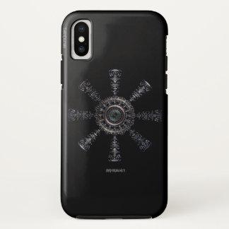 Funda Para iPhone X Rune☼ ancestral y espiritual del ☼Aegishjalmur -