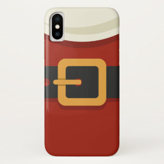 Funda Para iPhone X Santa