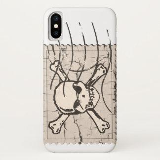 Funda Para iPhone X Sello del cráneo