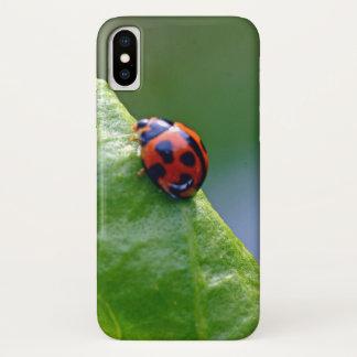 Funda Para iPhone X Señora en el jardín