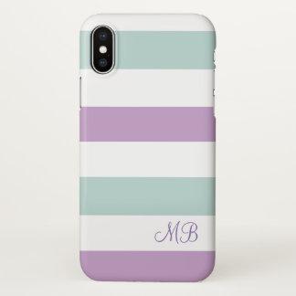 Funda Para iPhone X Serie con monograma del diseñador