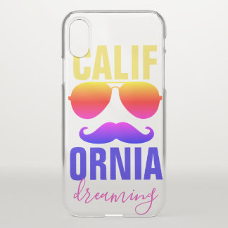 Funda Para iPhone X Sueño de Calif Ornia