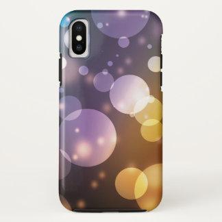 Funda Para iPhone X Sueño multi de las burbujas