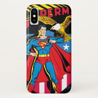 Funda Para iPhone X Superhombre #14