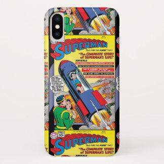 Funda Para iPhone X Superhombre #146
