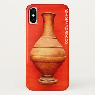 Funda Para iPhone X tarro de madera b islámico popular del florero de