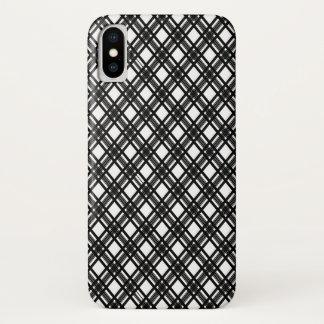 Funda Para iPhone X Textura de las rayas