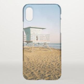 Funda Para iPhone X Torre del salvavidas en Santa Cruz