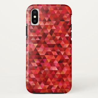Funda Para iPhone X Triángulos sangrientos