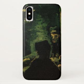 Funda Para iPhone X Van Gogh; Estudio para los comedores de la patata,