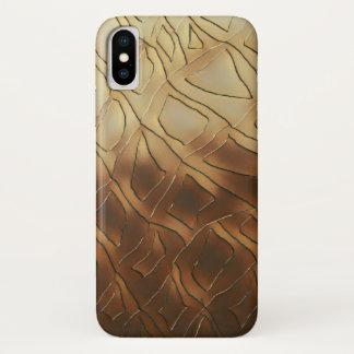 Funda Para iPhone X Vidrio del whisky