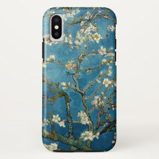 Funda Para iPhone X Vintage floreciente Van Gogh floral del árbol de