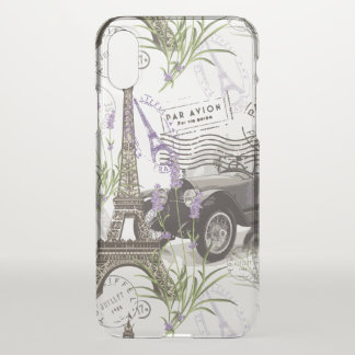 Funda Para iPhone X Vintage París