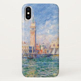 Funda Para iPhone X Vista de Venecia por Renoir