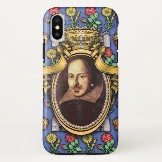 Funda Para iPhone X William Shakespeare