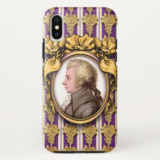 Funda Para iPhone X Wolfgang Amadeus Mozart