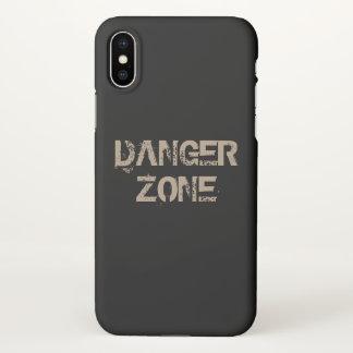 Funda Para iPhone X Zona peligrosa
