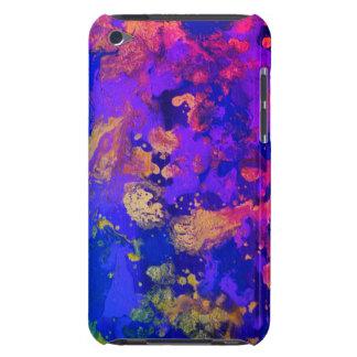 Funda Para iPod De Barely There Neblina púrpura de neón
