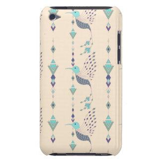 Funda Para iPod De Barely There Pájaro azteca tribal étnico del vintage