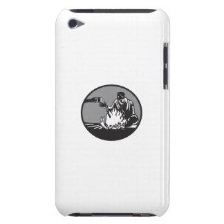 Funda Para iPod De Case-Mate Taza de la hoguera del campista de grabar en