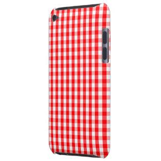 Funda Para iPod Pequeño control rojo blanco como la nieve y del