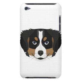 Funda Para iPod Perro de montaña de Bernese del ilustracion