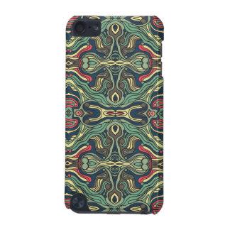 Funda Para iPod Touch 5 Diseño rizado dibujado mano colorida abstracta del