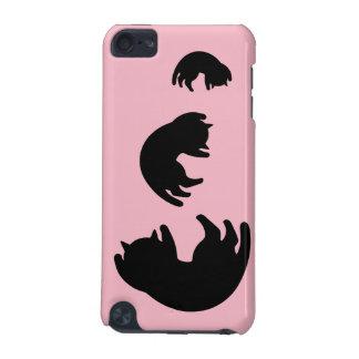 Funda Para iPod Touch 5 Gato negro