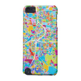 Funda Para iPod Touch 5 Mapa colorido de Atlanta