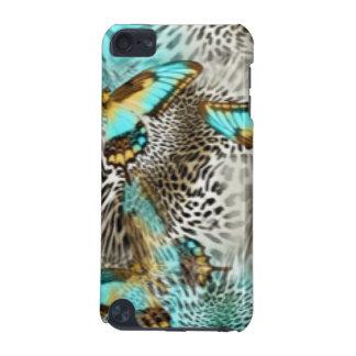 Funda Para iPod Touch 5 Mariposas del estampado leopardo y del trullo