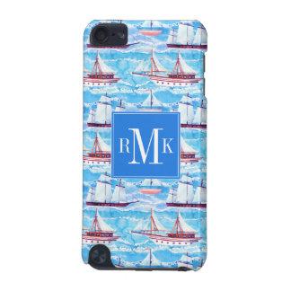 Funda Para iPod Touch 5 Modelo de los veleros de la acuarela