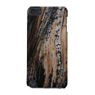 Funda Para iPod Touch 5 Textura quemada de la corteza de árbol