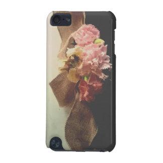 Funda Para iPod Touch 5G diseño bonito de las flores del iphone del regalo