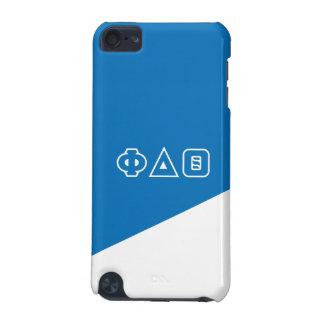 Funda Para iPod Touch 5G Letras del Griego de la theta el | del delta de la