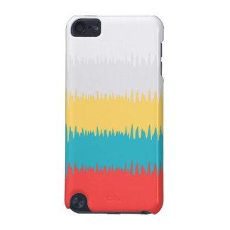 Funda Para iPod Touch 5G Modelo blanco de la frecuencia del amarillo