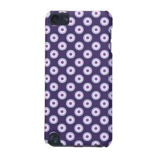 Funda Para iPod Touch 5G Modelo de lunar - lavanda púrpura violeta azul